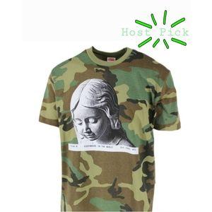 NWOT Supreme Camo T-Shirt